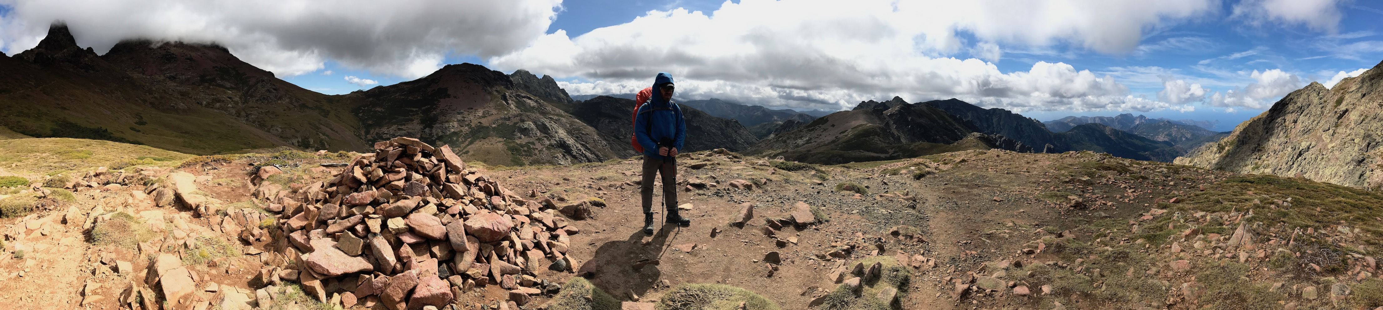 Trekking the GR20 on Corsica